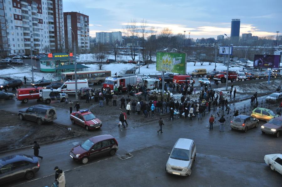 В Перми погиб водитель Субару
