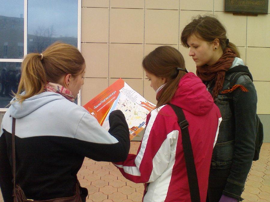 Любители «Георгиевской игры» атакуют пермские улицы - фото 1