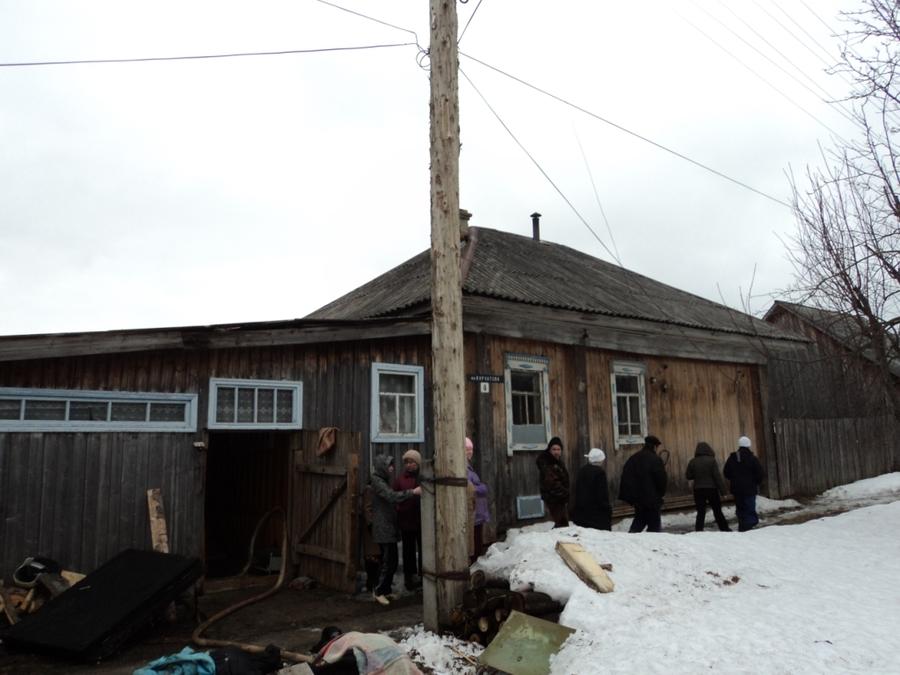 В Кудымкаре на пожаре погибли три человека - фото 1