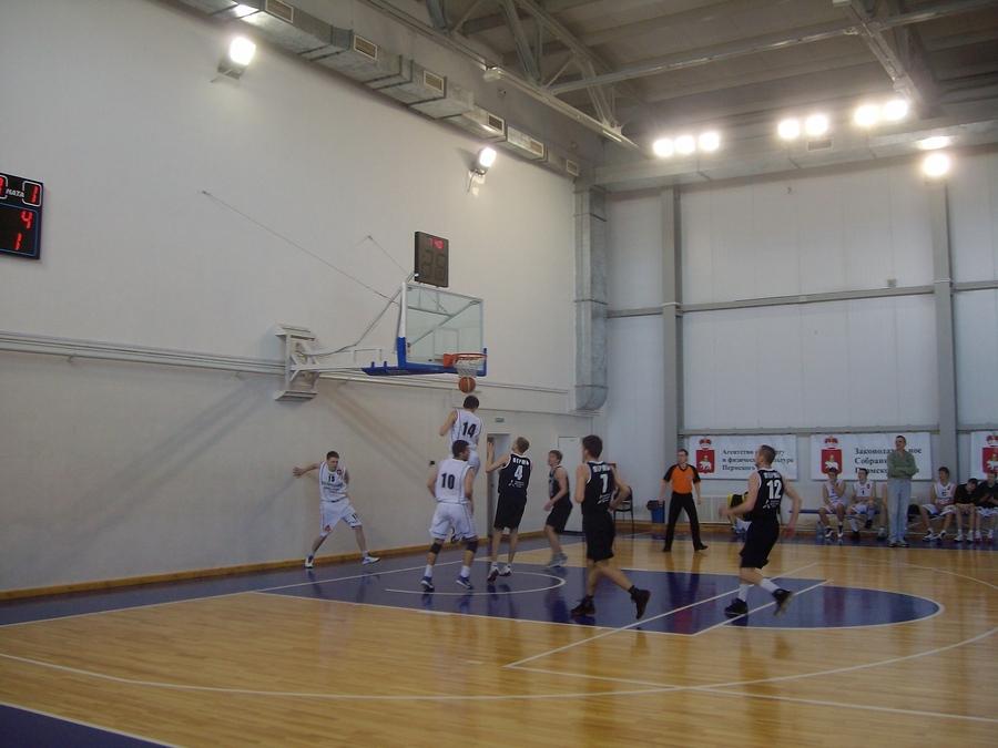 Заключительный день спартакиады пермских вузов по баскетболу