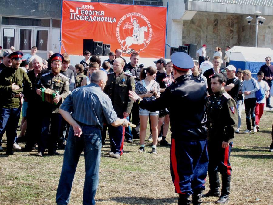 Пермские казаки отпраздновали День Георгия Победоносца