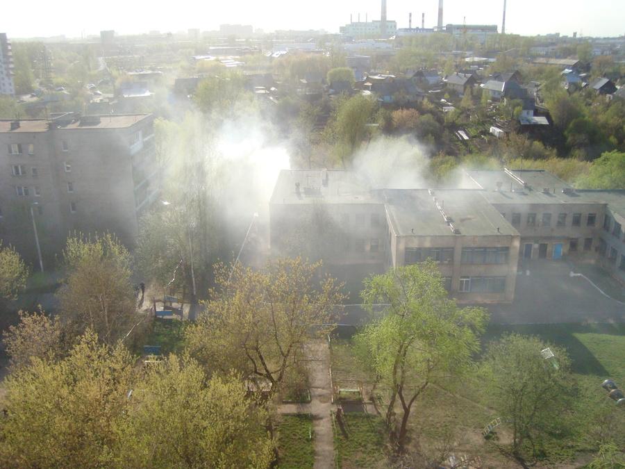 Вчера в Перми чуть не сгорел детский сад