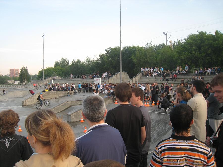 Заморские гости захватили Пермский экстрим-парк