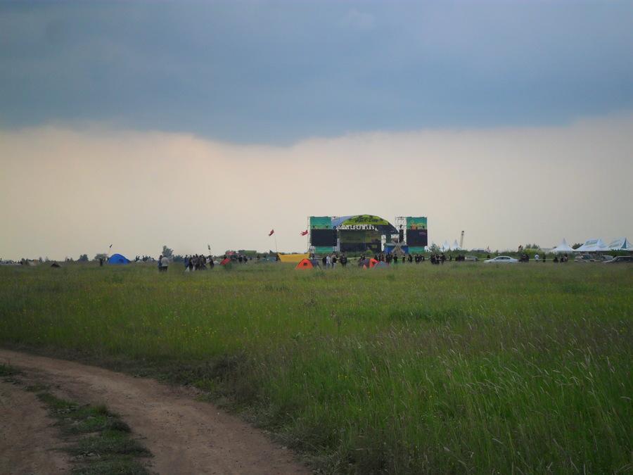 Первый день пермского «Рок-Лайна» прошёл без дождя