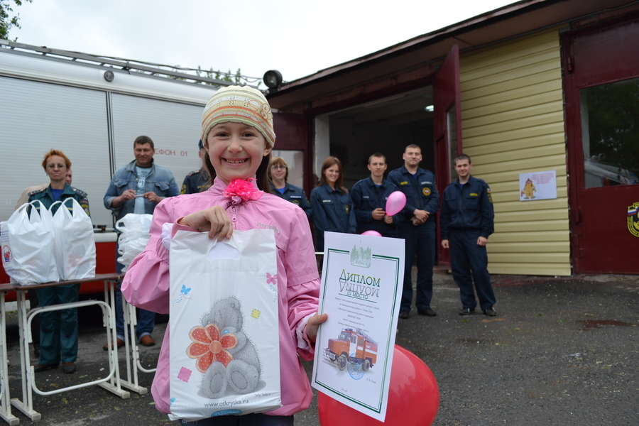 Пермские пожарные с пользой отметили День защиты детей - фото 1