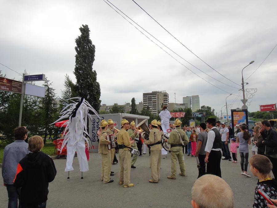 Карнавал в центре Перми