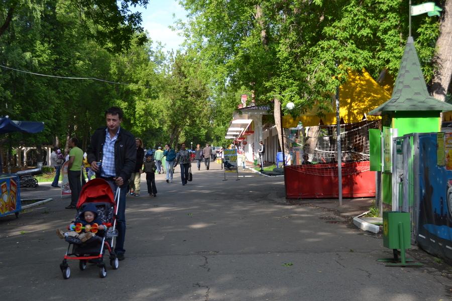 В Пермском парке имени Горького почти не курят