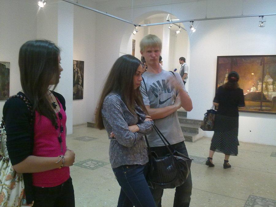 В Перми открылась выставка молодых художников - фото 1