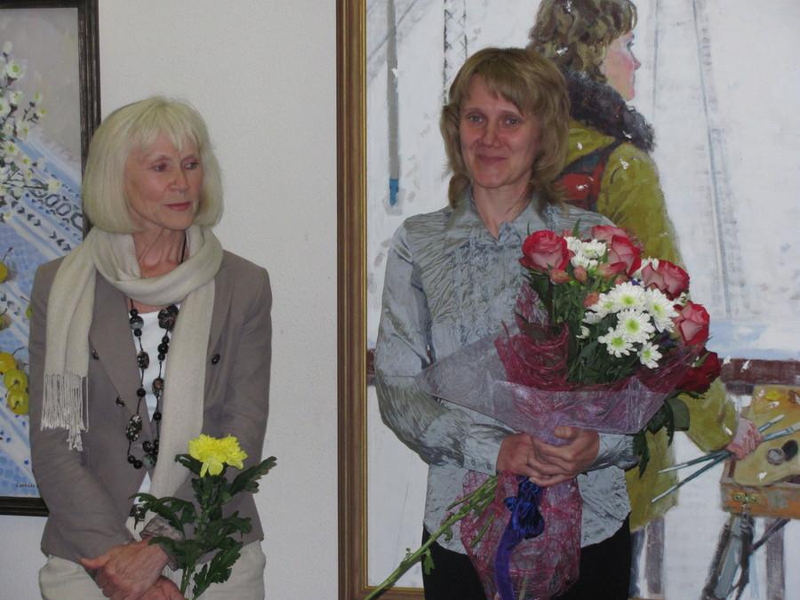 В Доме художника открылись выставки двух Валентин