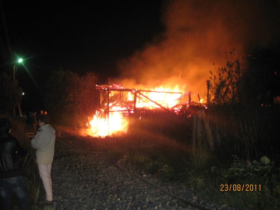 Два человека погибли на пожаре в Краснокамске