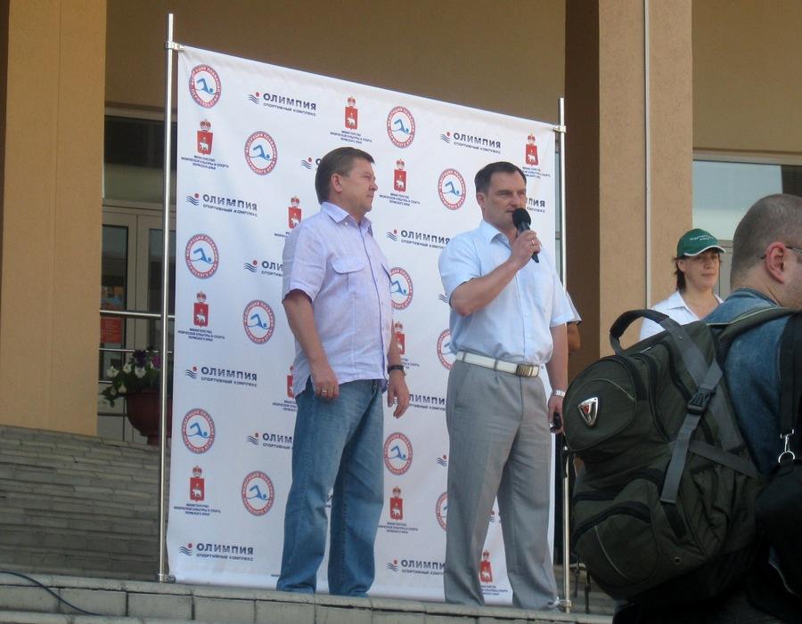 В Индустриальный район Перми на День физкультурника приехали звезды «Амкара» - фото 3