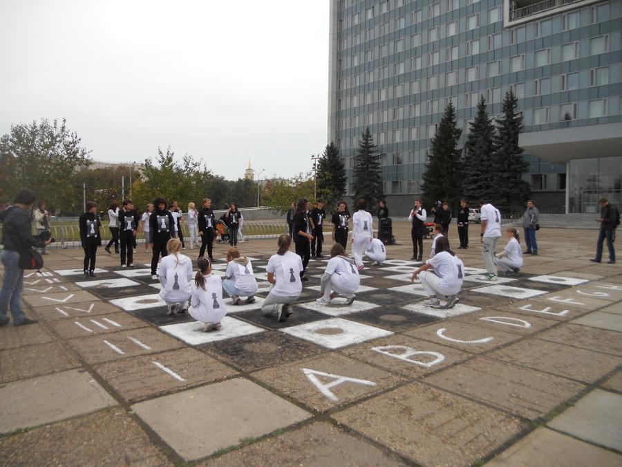 Город Пермь захлестнула спортивная волна