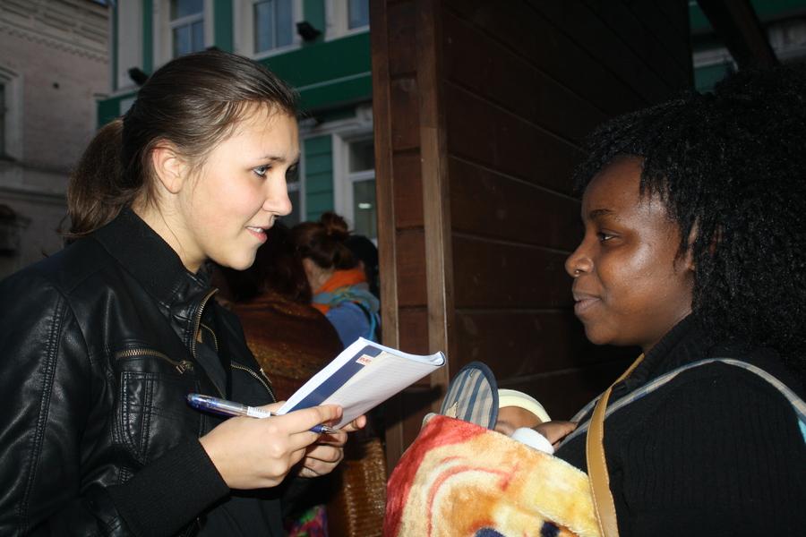 На улицах Перми вчера отплясывали гости из далёкой Африки - фото 3