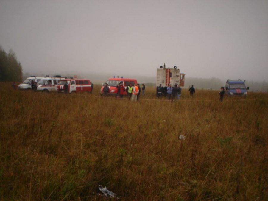 По факту падения самолета МИГ-31 в Пермском крае возбуждено уголовное дело