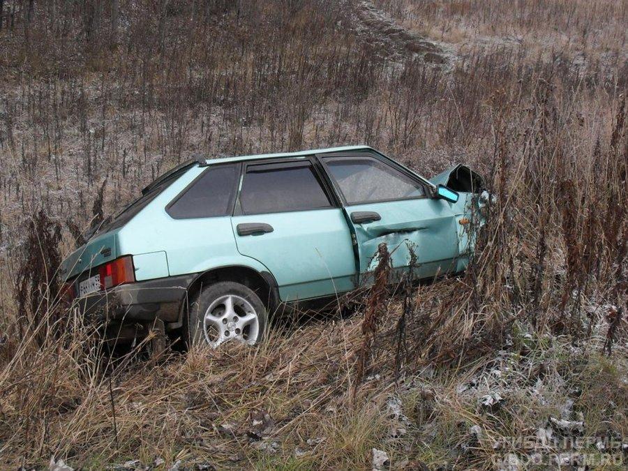 В Лысьвенском районе в автоаварии травмирована 6-летняя девочка - фото 1