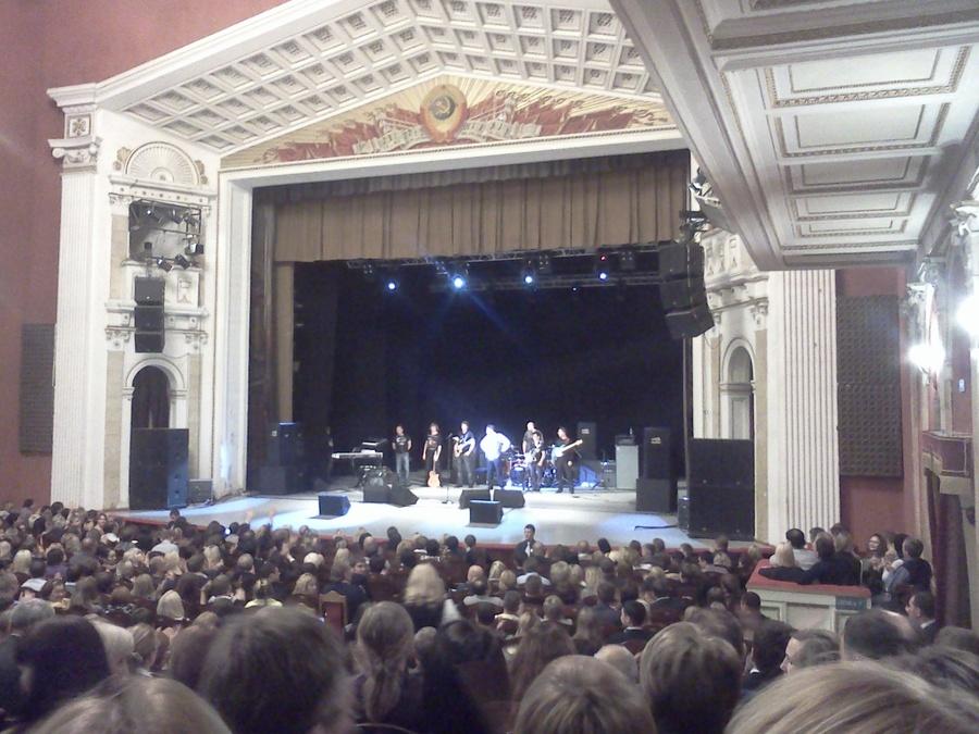 Григорий Лепс спел вчера для пермяков