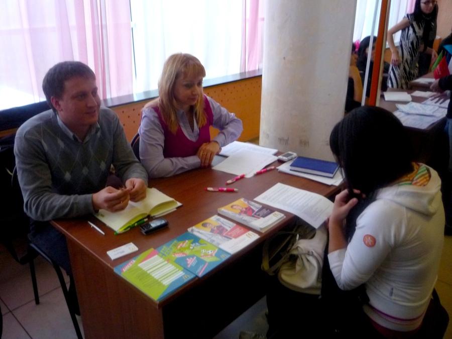 В Перми прошла ярмарка молодежных вакансий