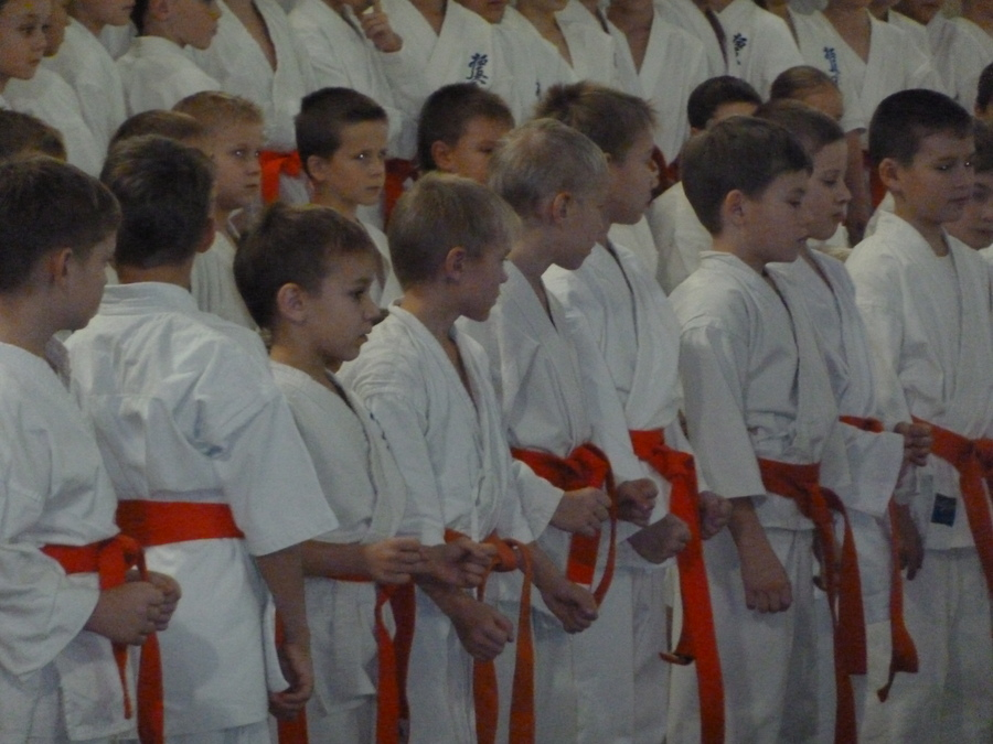 Юные пермские каратисты прошли обряд посвящения