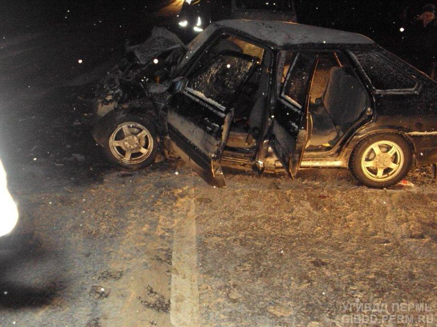 В ДТП в Добрянском районе пострадали три человека - фото 1