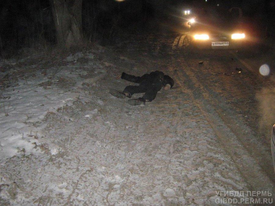 В Соликамске Тойота Виста убила пешехода