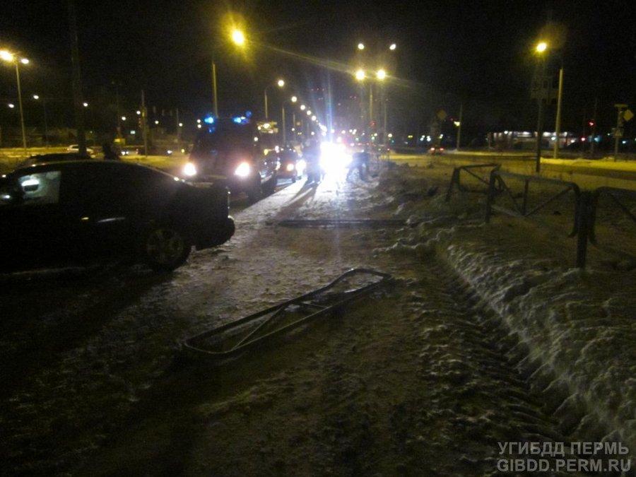 В Свердловском районе Перми насмерть сбит пешеход