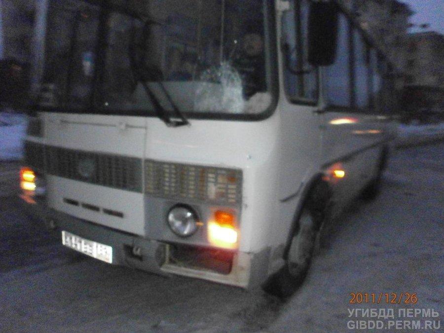 В Березниках автобус сбил мать с ребенком
