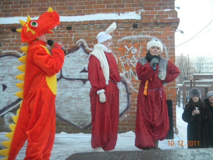 Сегодня в Перми дети сообщали свои желания Деду Морозу
