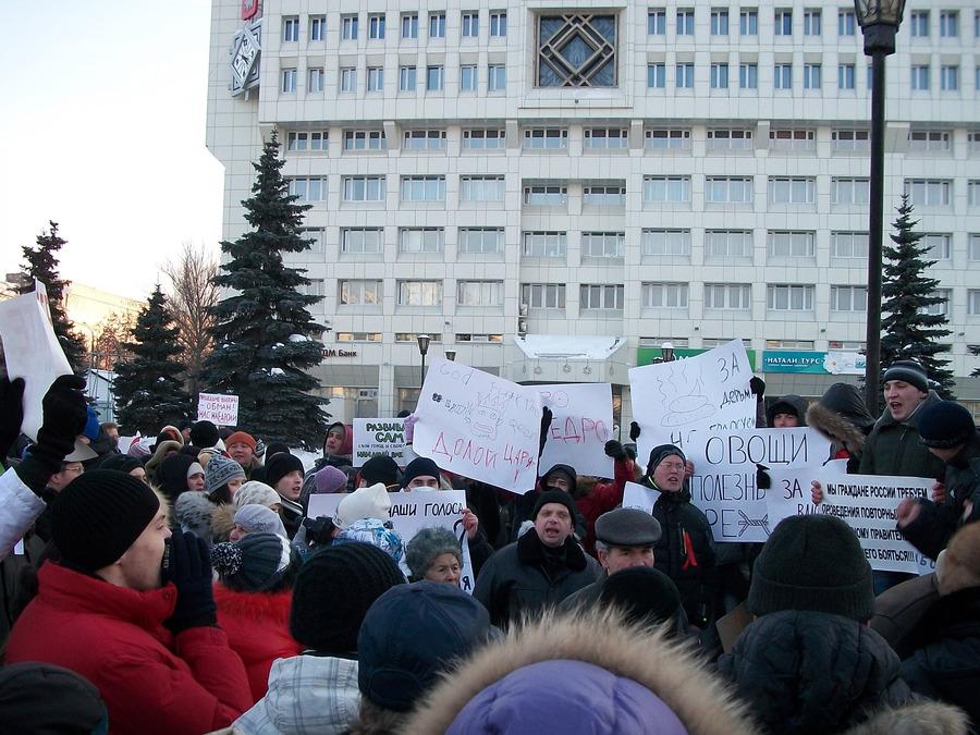 Пермь против нечестных выборов