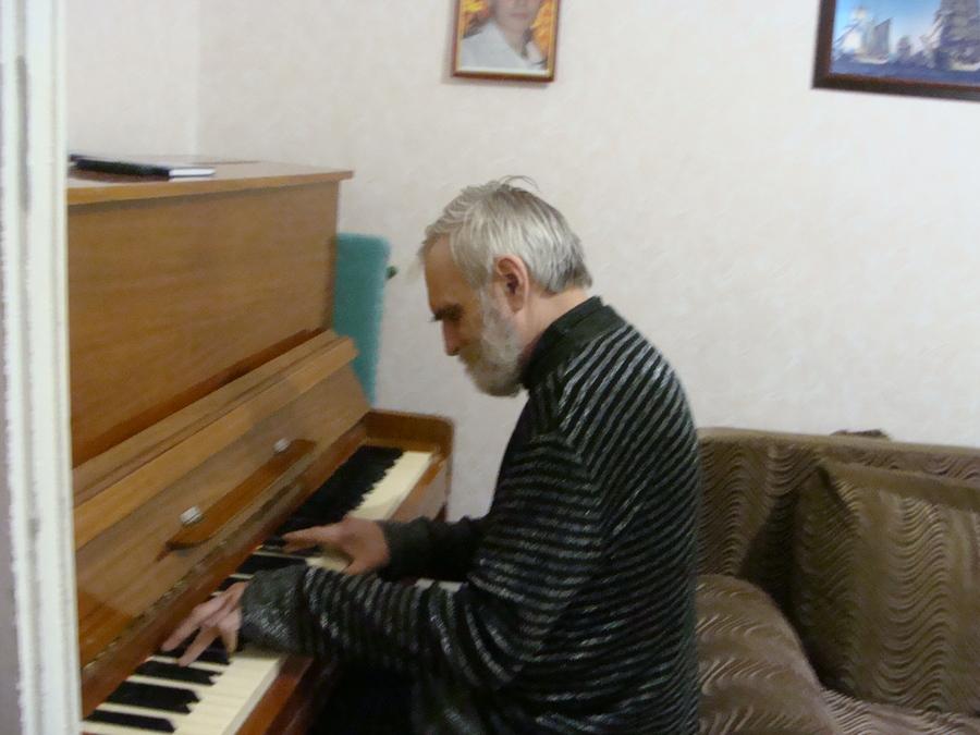 Рейс Белого парохода.  В гостях у патриарха пермских композиторов - фото 10
