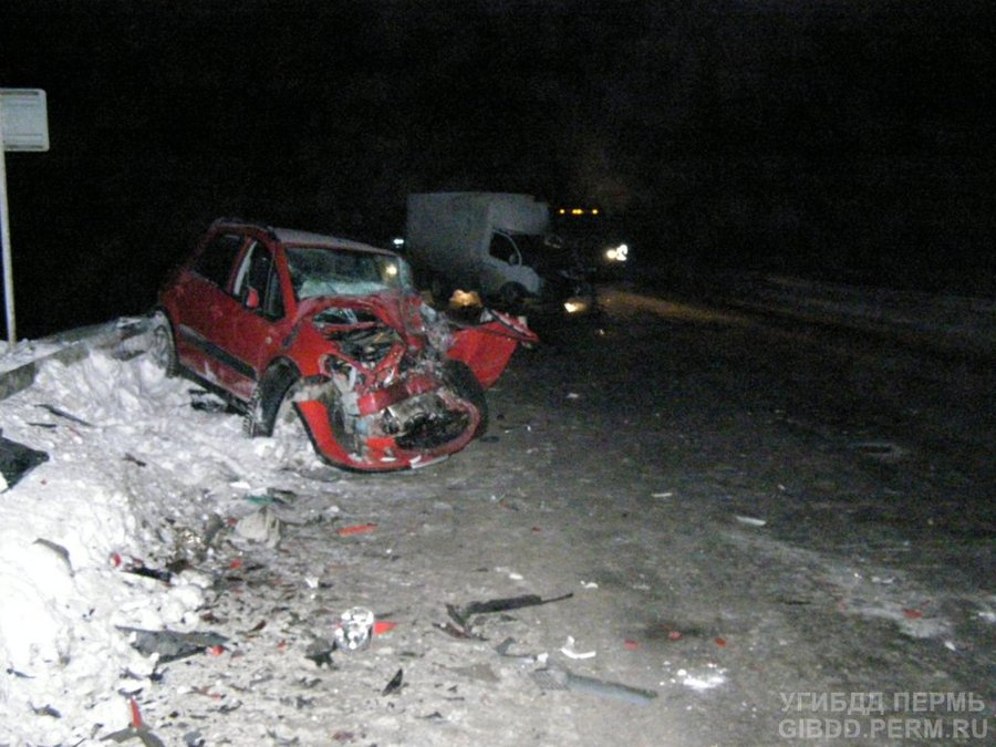 В Пермском крае в столкновении автомобилей погиб водитель Газели - фото 1