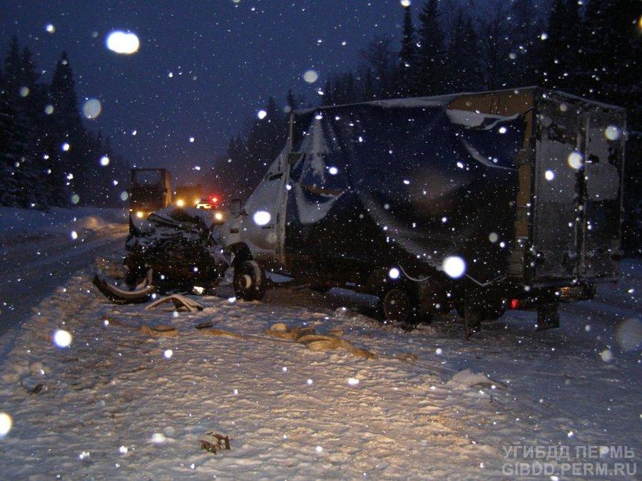 В Очерском районе погиб водитель «десятки» - фото 1