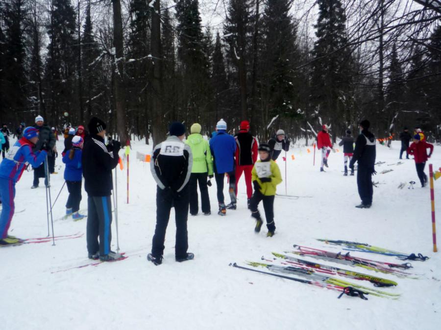 В Перми со смехом и песнями открыли лыжный сезон