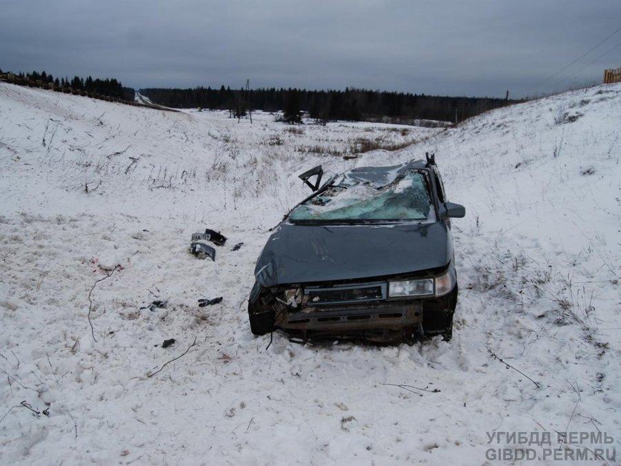 В Юрлинском районе в автоаварии погиб пассажир «десятки»