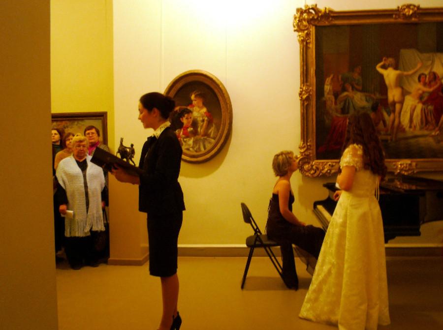 В стенах Пермской галереи прозвучало ангельское пение