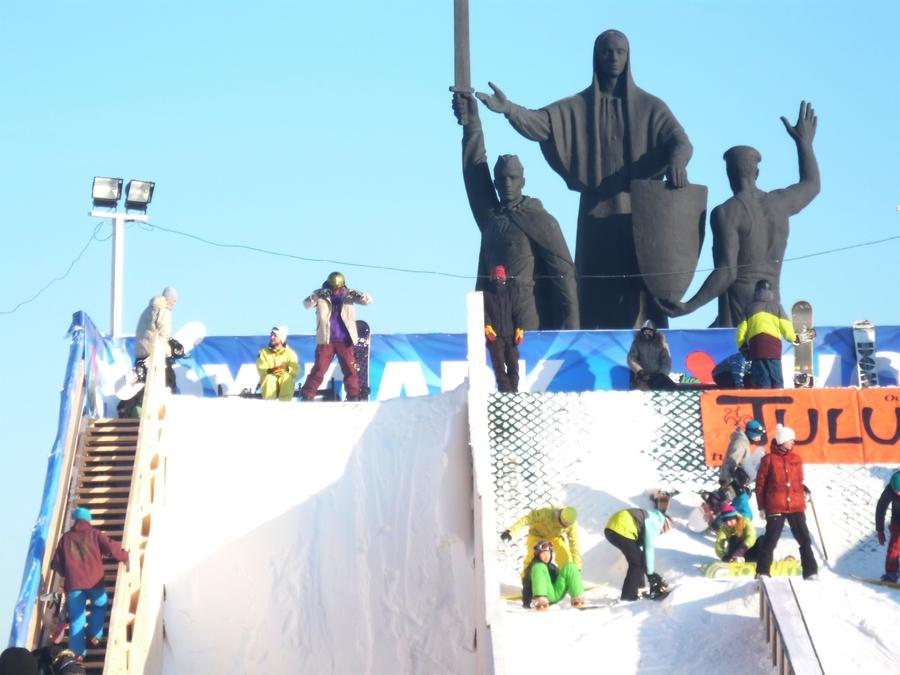 Пермские сноубордисты стартовали под крики «Аллилуйя!»