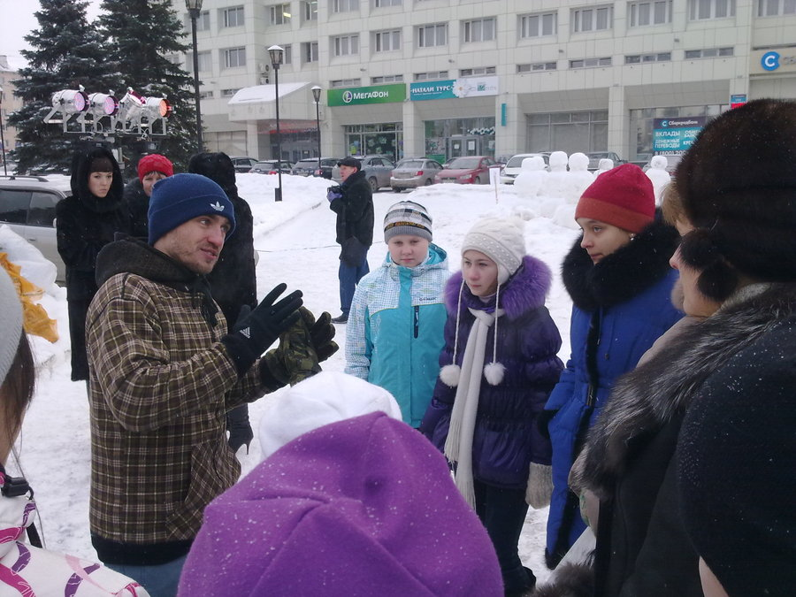 В Перми нарядили армию снеговиков - фото 1