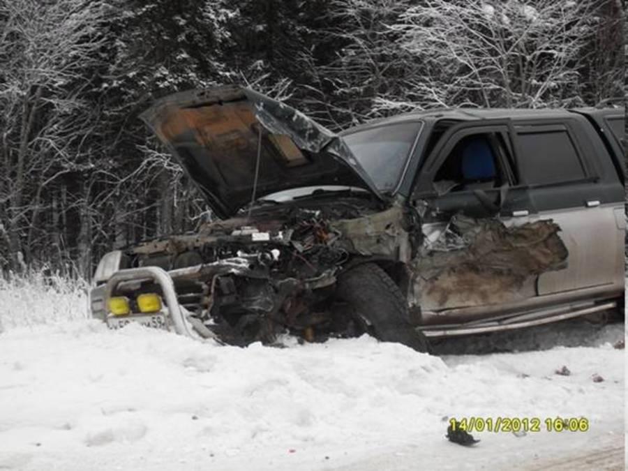В Пермском крае в автоаварии пострадали трое маленьких детей