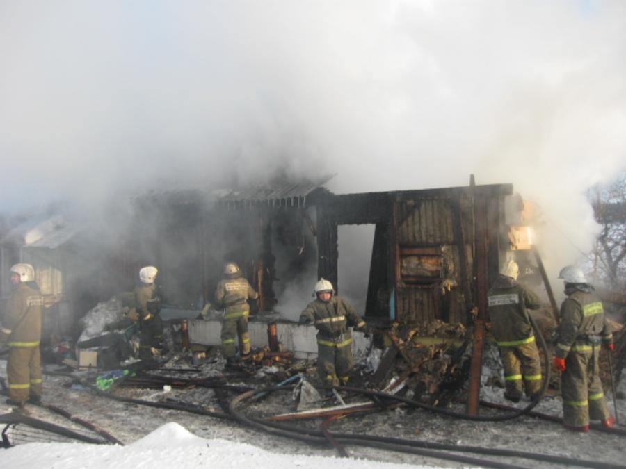 В Перми выгорел 6-квартирный дом