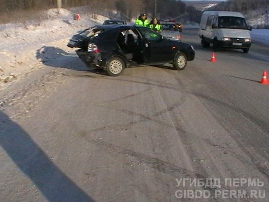 В Пермском крае погиб водитель Приоры - фото 1