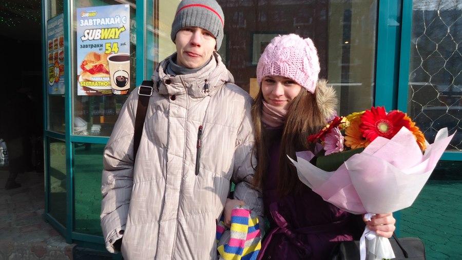 В самый романтичный день февраля пермяков грела любовь