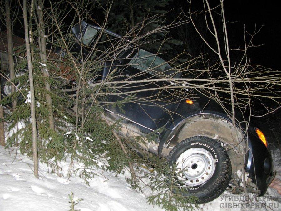 В Ильинском районе погиб водитель Мицубиси