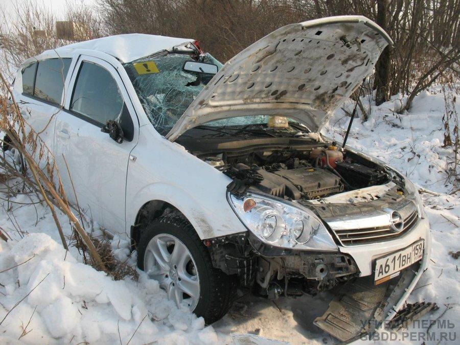В Нытвенском районе погибла женщина-водитель - фото 1
