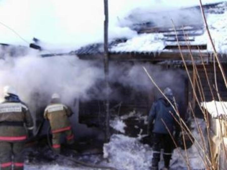 В Пермском районе на пожаре сегодня погибли женщина с двумя детьми
