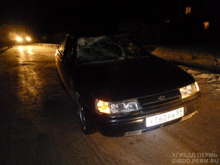 В Пермском районе «десятка» сбила мужчину и трехлетнего мальчика