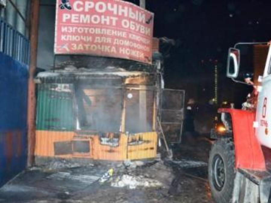 В Перми в киоске сгорели два человека