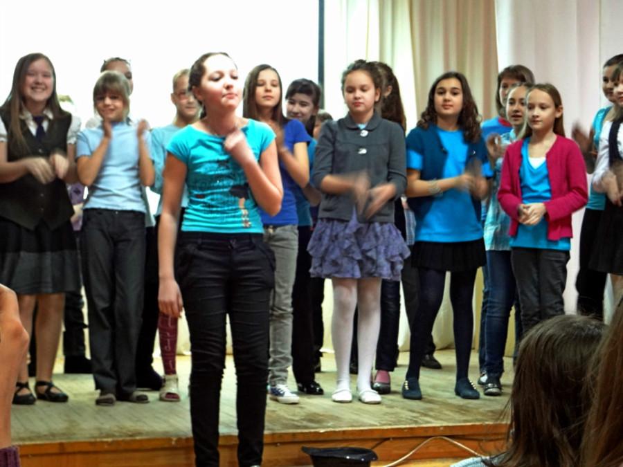 Пермские школьники показали музыкальный спектакль на английском языке - фото 4