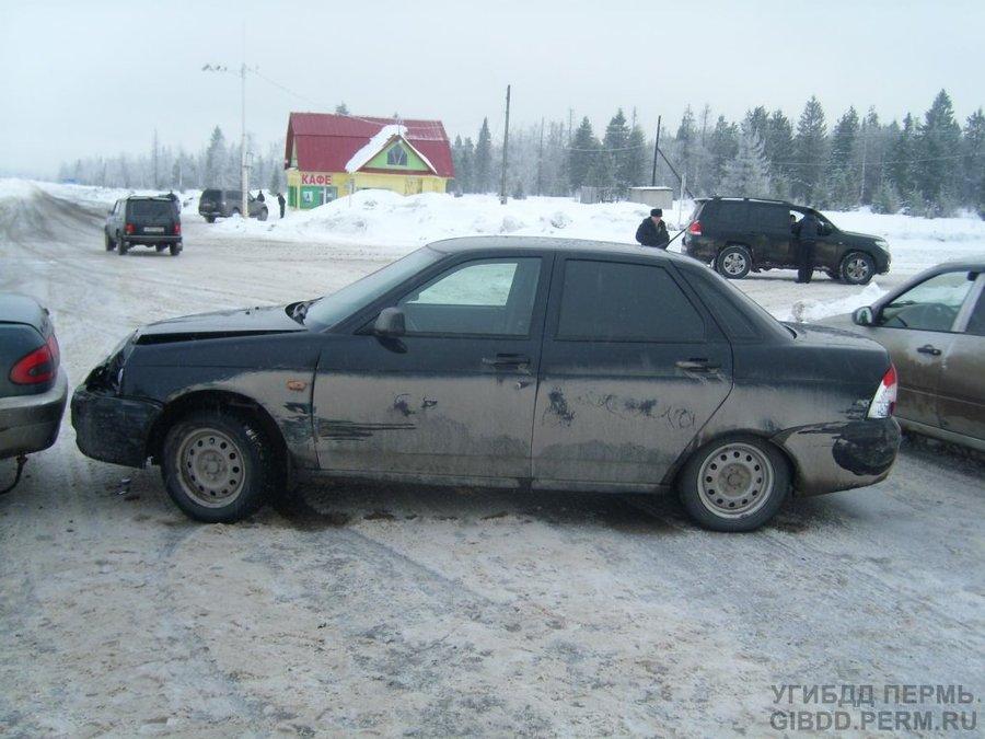 В Гремячинском районе травмирован водитель Газели - фото 1
