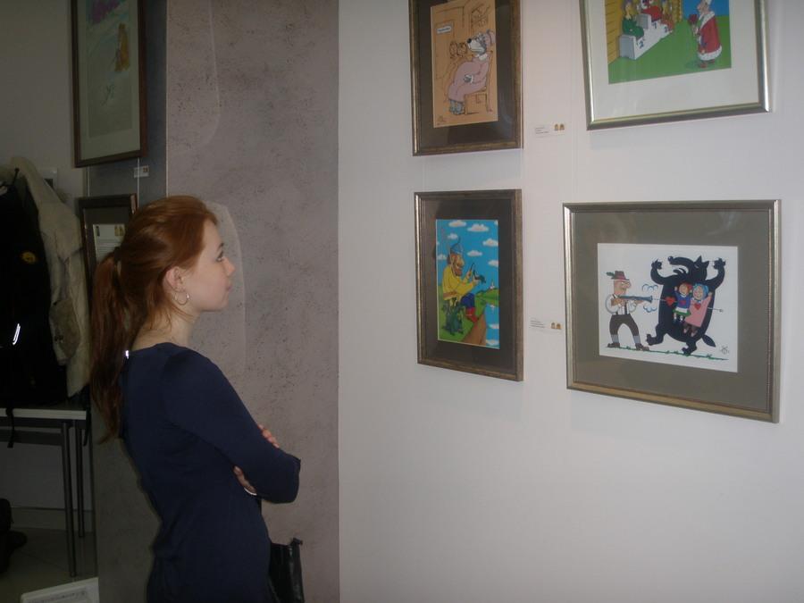 В Перми открылась выставка двух карикатуристов - фото 1