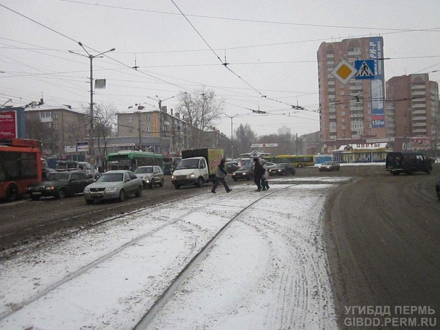 В Перми Волга сбила пенсионерку - фото 1
