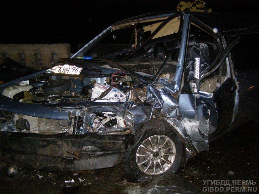 В ДТП в Осинском районе ранены пять человек
